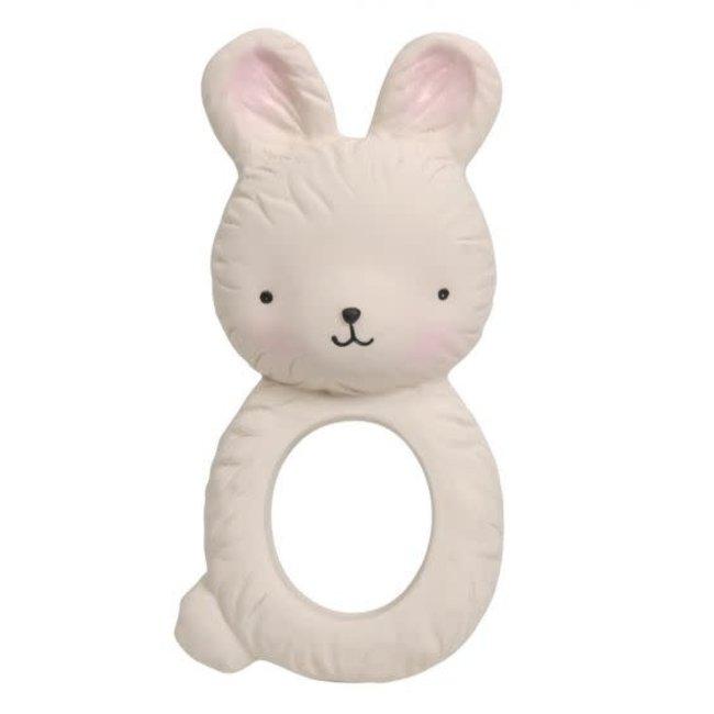 A Little Lovely Company A Little Lovely Company - Teething Ring, Bunny