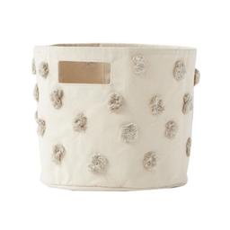 Pehr Pehr - Storage Basket, Pom Pom Grey