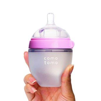 Como Tomo Como Tomo - Baby Bottle and Replacement Nipples Bundle, Pink