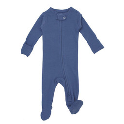 L'ovedbaby L'ovedbaby - Organic Reverse Zipper Footed Overall, Slate