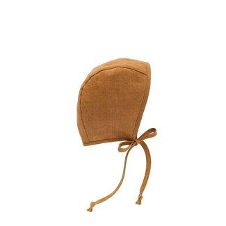 Briar Baby Briar Baby - Classic Bonnet, Rust Linen