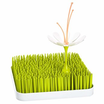 Boon Boon - Stem Grass and Lawn Drying Rack Accessory, White