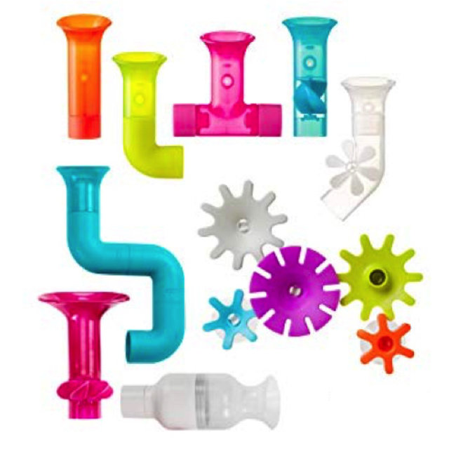 Boon Boon - Pipes and Tubes and Cogs Bundle, 13 Pieces
