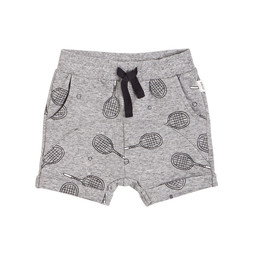 Miles Baby Miles Baby - Knitted Short, Medium Heather Grey