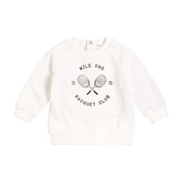 Miles Baby Miles Baby - Knitted Sweater, Off White