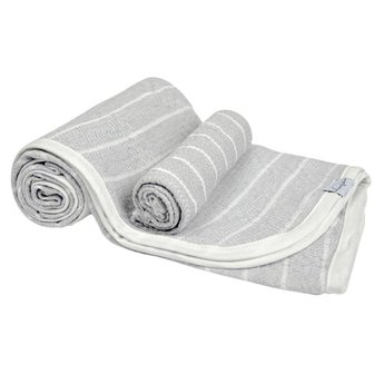 House of Jude House of Jude - Baby Towel and Washcloth Set, Stone