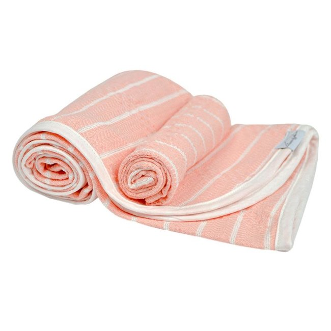 House of Jude House of Jude - Baby Towel and Washcloth Set, Blush