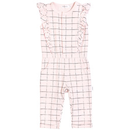 Miles Baby Miles Baby - Knitted Playsuit, Light Pink
