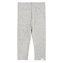 Miles Baby Miles Baby - Leggings Tricot, Gris Chiné