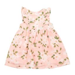 Angel Dear Angel Dear - Ruffle Dress, Magnolias