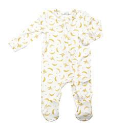 Angel Dear Angel Dear - Zipper Footie, Bananas