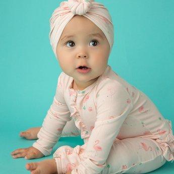 Angel Dear Angel Dear - Pyjama à Pattes à Volants, Famille Flamants