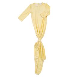 Angel Dear Angel Dear - Knotted Gown, Yellow Stripe