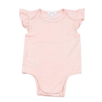 Angel Dear Angel Dear - Ruffle Onesie, Pink