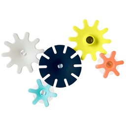 Boon Boon - Cogs Bath Toy, Navy Multi