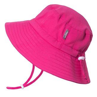Jan & Jul Jan & Jul - Grow With Me Aqua Dry Bucket Sun Hat, Hot Pink