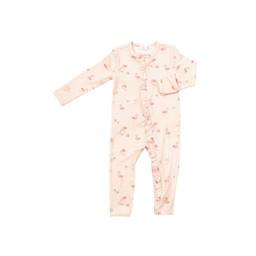 Angel Dear Angel Dear - Ruffle Romper, Flamingo Family