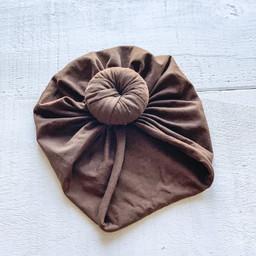 Mini Bretzel Mini Bretzel - Baby Turban, Chocolate