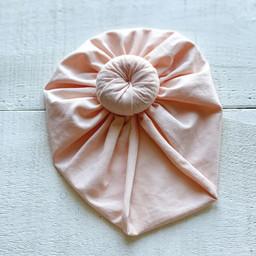 Mini Bretzel Mini Bretzel - Baby Turban, Peach