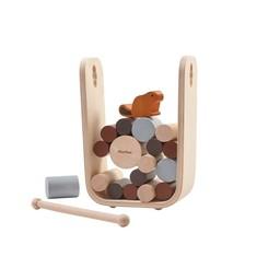 Plan toys Plan Toys - Jeu Castor et Bûches