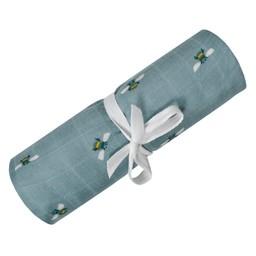 Perlimpinpin Perlimpinpin - Bamboo Muslin Blanket, Bees