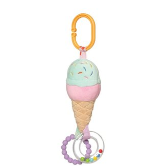 Manhattan Toy Manhattan Toy - Jouet d'Éveil en Peluche, Crème Glacée