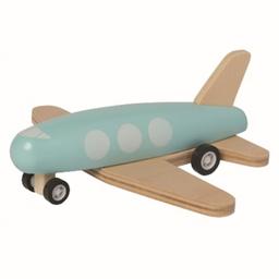 Manhattan Toy Manhattan Toy - Avion de Bois avec Roues à Ressorts