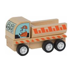 Manhattan Toy Manhattan Toy - Camion Cargo en Bois avec Roues à Ressorts