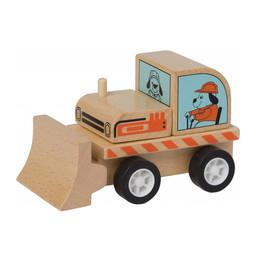 Manhattan Toy Manhattan Toy - Camion Pelle en Bois avec Roues à Ressorts