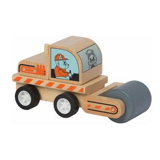 Manhattan Toy Manhattan Toy - Camion Rouleau en Bois avec Roues à Ressorts