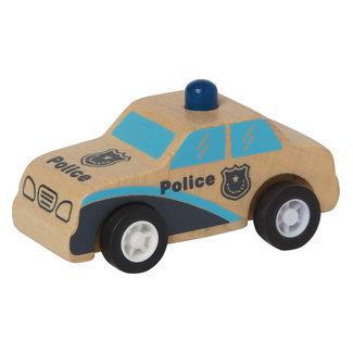 Manhattan Toy Manhattan Toy - Wooden Police Car with Spring Wheels