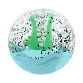Sunny Life SunnyLife - 3D Inflatable Beach Ball, Crocodile