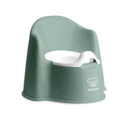BabyBjörn BabyBjörn - Potty Chair,  Deep Green and White