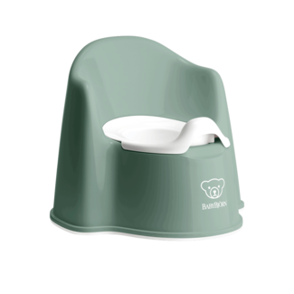 BabyBjörn BabyBjörn - Petit Pot, Vert Profond et Blanc
