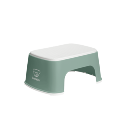 BabyBjörn BabyBjörn - Step Stool, Deep Green and White