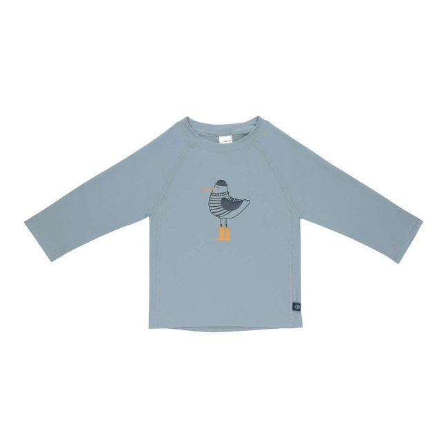 Lässig Lässig - Short Sleeves Swim Sweater, Blue Seagull
