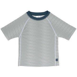 Lässig Lässig - Short Sleeves Swim Sweater, Blue Stripes