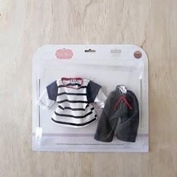 Paola Reina Paola Reina - Doll Clothes, Jeans and Striped Shirt Set