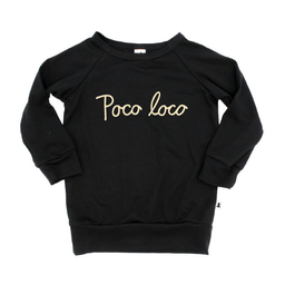 Little & Lively Little & Lively - Pullover, Poco Loco Black