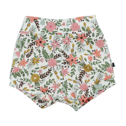 Little & Lively Little & Lively - High-Waisted Shorties, Picnic Floral