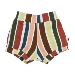 Little & Lively Little & Lively - High-Waisted Shorties, Fiesta Stripe