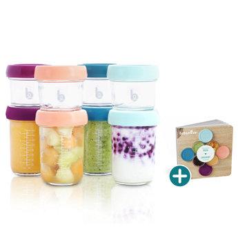 Babymoov Babymoov - Set of Glass Babybowls and Organic Recipe Booklet, Multi Set