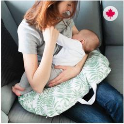 Perlimpinpin Perlimpinpin - Multifunctional Pregnancy Pillow, Tropical Green
