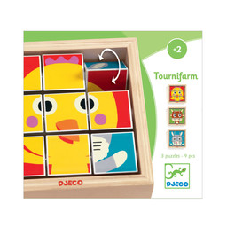 Djeco Djeco - Rotating Puzzle, Tournifarm