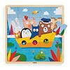 Djeco Djeco - Wooden Puzzle, Puzzlo Boat