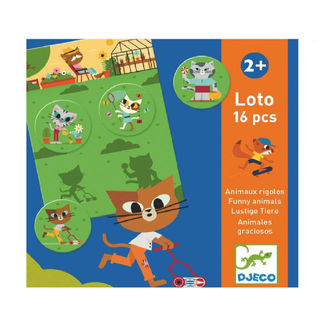 Djeco Djeco - Loto Game, Funny Animals