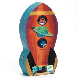 Djeco Djeco - Silhouette Puzzle, Spaceship