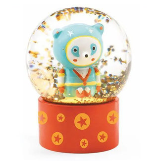 Djeco Djeco - Mini Snow Globe So Wild, Super Hero