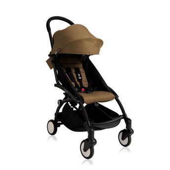 Babyzen DEMO SALE - Babyzen, Yoyo+ - Complete Stroller Black Frame Toffee Fabric Set 6+