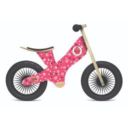 Kinderfeets Kinderfeets - Vélo d'Équilibre Retro, Gâteaux